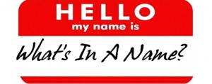Ce este un nume?